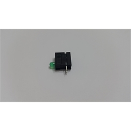 SSUPORTE DE LED 3MM 90Gº VERDE (ELEMENT 3MM GRUN) HARTMANN - CODIGO:8962